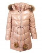 92039#3 пудра Куртка дев 134-170- по 6