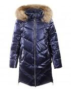 92050#1 синий Куртка дев 134-170 по 6