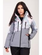 2341 пудра Куртка женская S-XL по 4