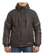 24458 dark grey Куртка мужская L-3XL по 5
