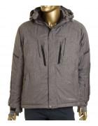 24457 light grey Куртка мужская L-3XL по 5
