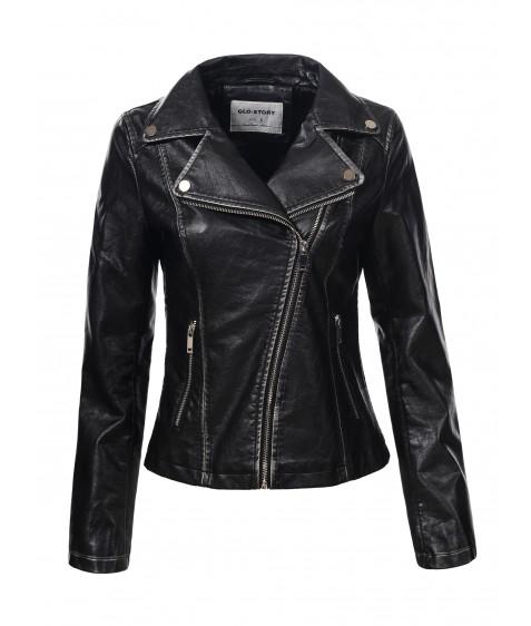 WPY-6093 Куртка женская эко-кожа S-XL 24/4