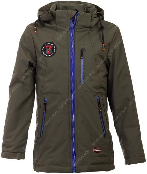 2908 хаки Куртка мальчик 128-152 по 5