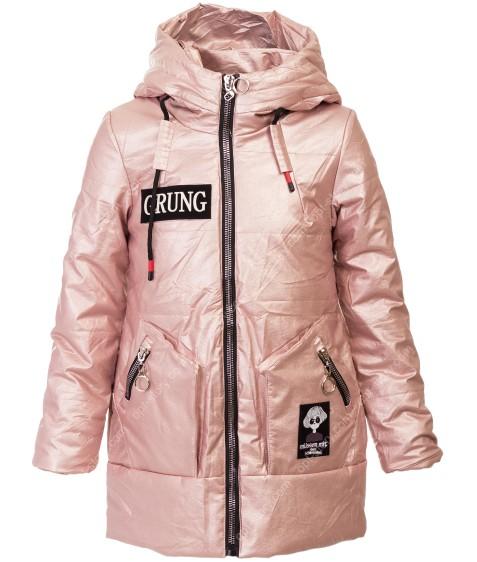 DX-9067 пудра Куртка девочка 116-146 по 6