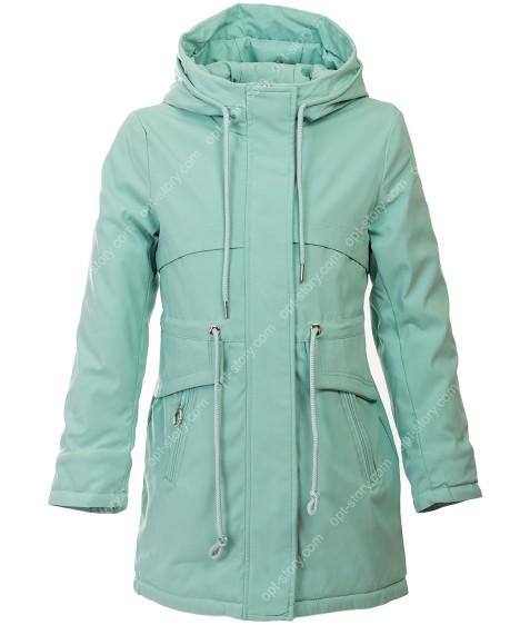 HL-001 зел Куртка девочка 140-164 по 5