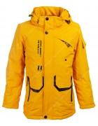 JK2026 желт. Куртка мальчик 140-164 по 5