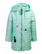 4033 бирюза Куртка девочка 104-134 по 6