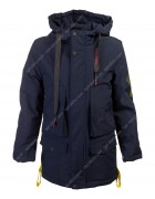 B972-2 т. син. Куртка мальчик 140-164 по 5