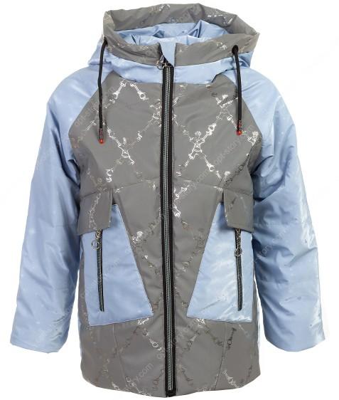 JB-005# синий Куртка дев 122-146 по 5