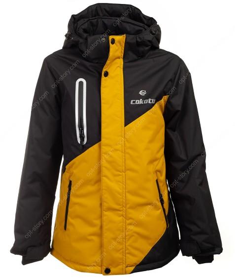 T212 желтый Куртка маль 140-164 по 5