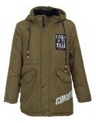 6693# зелен Куртка мальчик 134-158 по 5
