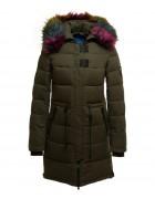 YH7316-1 зелен Куртка женская S-XXL по 5