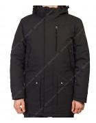 32587 чёрн. Куртка мужская M-3XL по 5
