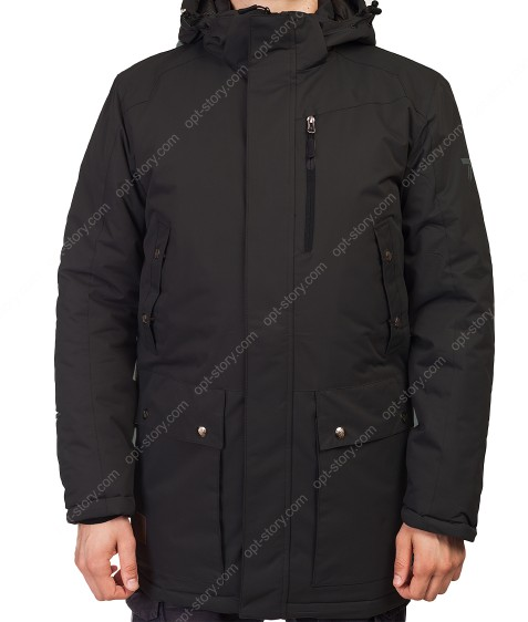 M-07/32587 чёрн. Куртка мужская M-3XL по 5