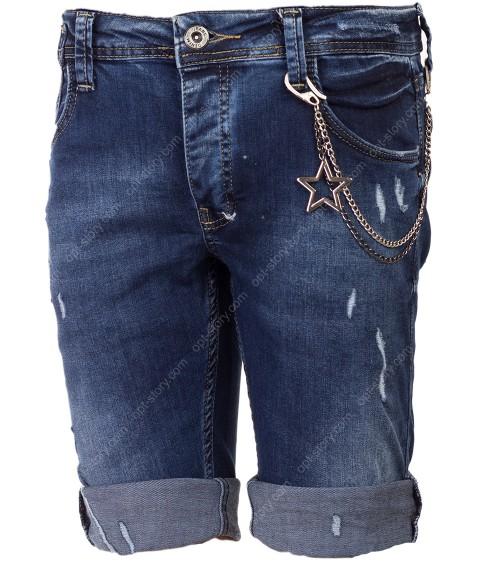 0075 Бриджи джинс мужские 29-36 по 8
