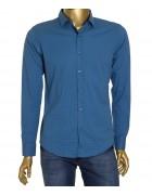 1343V-3 син.(дл. рукав) Рубашка мужская S-XL по 4
