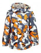 B36-02 оранж Куртка маль. 116-140 по 5