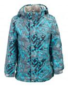 B36-03 бирюза Куртка маль. 116-140 по 5