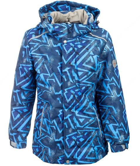 B36-03 синий Куртка маль. 116-140 по 5