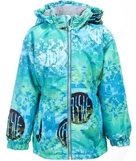 B23-05 бирюза Куртка дев. 92-116 по 5