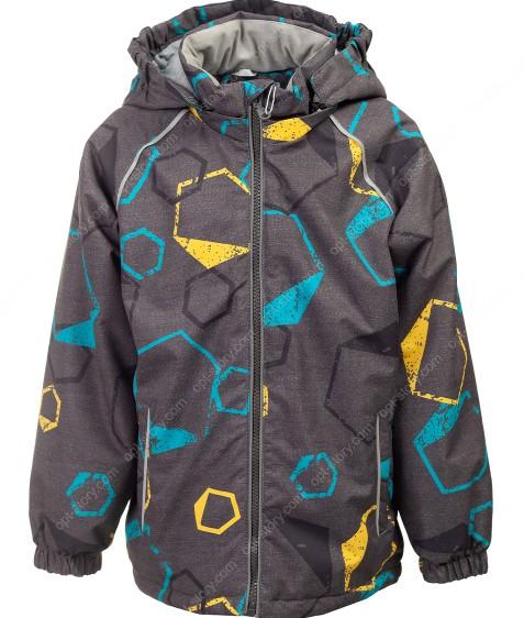 B35-01 серый Куртка маль. 104-128 по 5