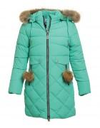 L-88703# зелен.Куртка девочка 140-164 по 5