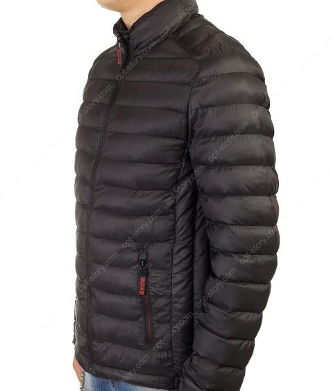 9928 черный Куртка муж. L-4XL (44-52) по 5шт