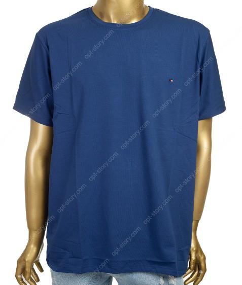 7603 синий Футболка мужская 3XL -6XL по 4шт