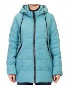 D-8982 бирюза Куртка женская 50-58 по 5
