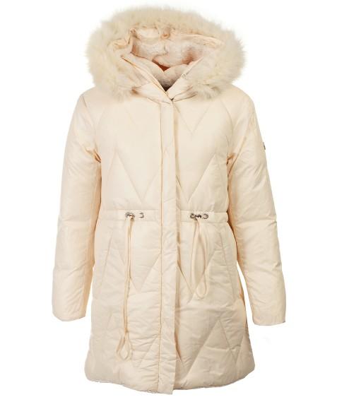 8983 белый Куртка дев.2-х сторон 116-140 по 5