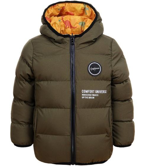 BMA-1331 хаки. Куртка мальчик 98-128 по 4