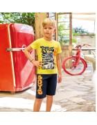 Футболка и шорты мальчик размер 7/8 по 3 шт. арт.5370