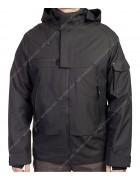 20A78#03 чёрн. Куртка мужская демисезон 46-56 по 5