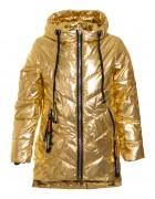 HL0895 золото Куртка девочка 134-158 по 5 (134, 146)