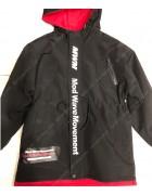 2011-3 чёрн/красн Куртка мальчик 134-158 по 5