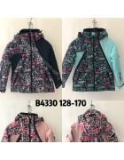 4330 Куртка девочка 128-170 по 12