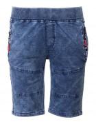 5466 красный  Шорты джинс. мальчик 8-16 по 5