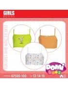67500-100 Топ для девочки в упаковке 3 шт. Размер 16