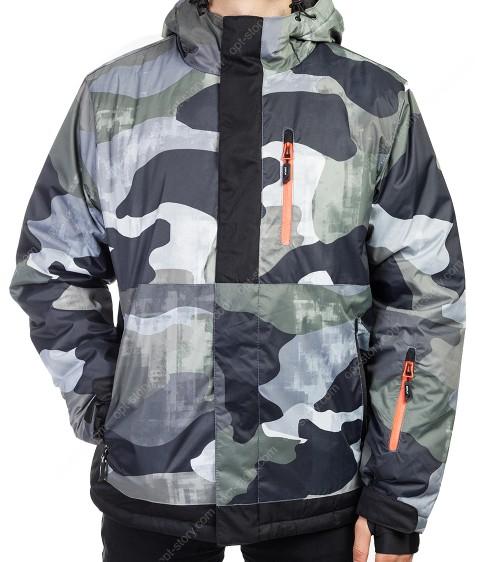 B1318 зел. Куртка мужская M-2XL по 4
