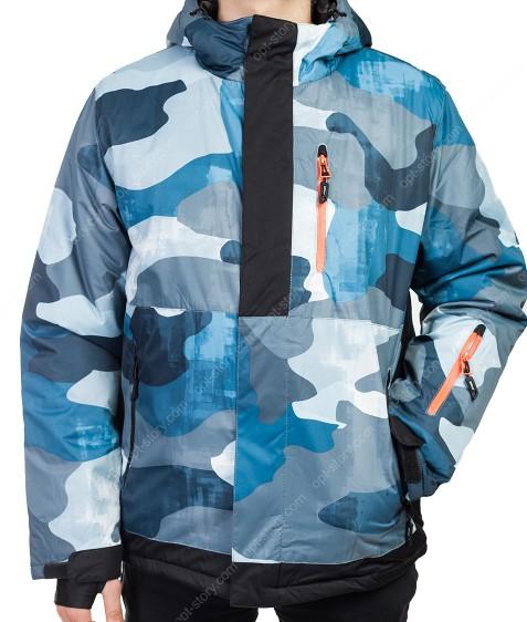 B1318 син. Куртка мужская M-2XL по 4