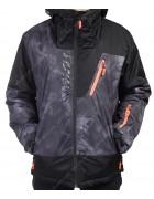 B1320 черн. Куртка мужская M-2XL по 4