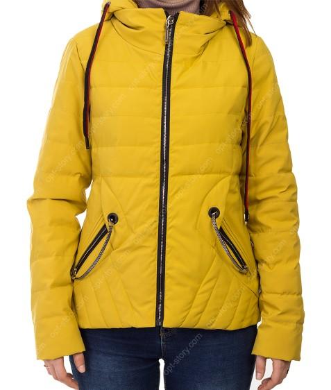 885# желт Куртка женская S-2XL по 5