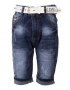 3281 Шорты джинс. мальчик 110-140  по 6