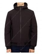 1273 чёрн Куртка мужская M-3XL по 5