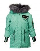 OS-1838# мята Куртка девочка 140-164 по 5