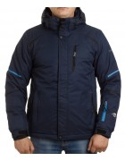 24461 dark blue/black Куртка мужская L-3XL по 5