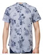 7962-10 Рубашка мужская (кор.рукав) S-2XL по 6