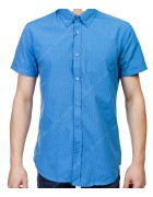 7962-11 Рубашка мужская (кор.рукав) S-2XL по 6