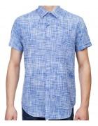 7962-12 Рубашка мужская (кор.рукав) S-2XL по 6