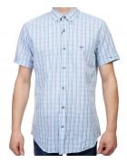 7962-14 Рубашка мужская (кор.рукав) S-2XL по 6